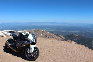 2014 BMW S1000RR | S1000RR at the top of Pikes Peak