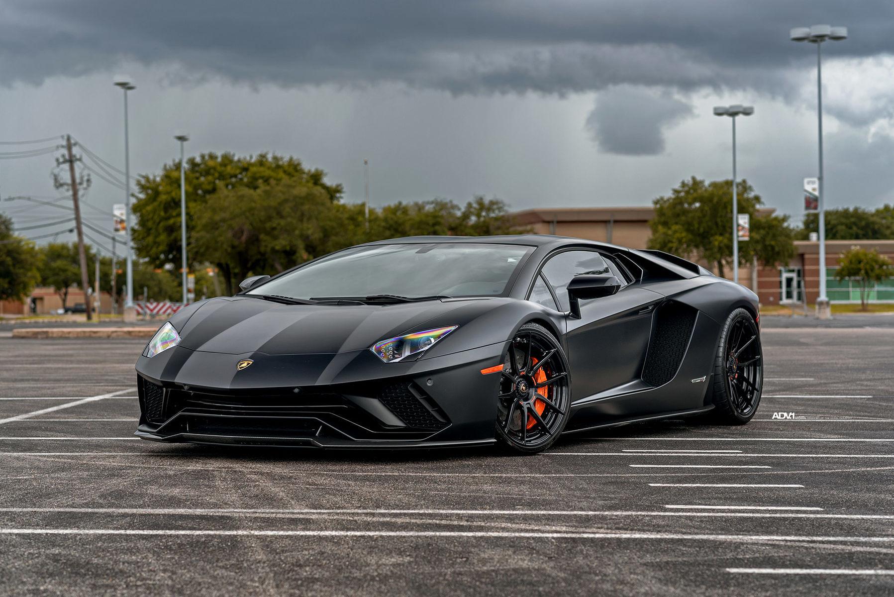 Lamborghini Aventador | Satin Black Lamborghini Aventador S - ADV.1 ADV5.0 M.V2 CS Series Wheels
