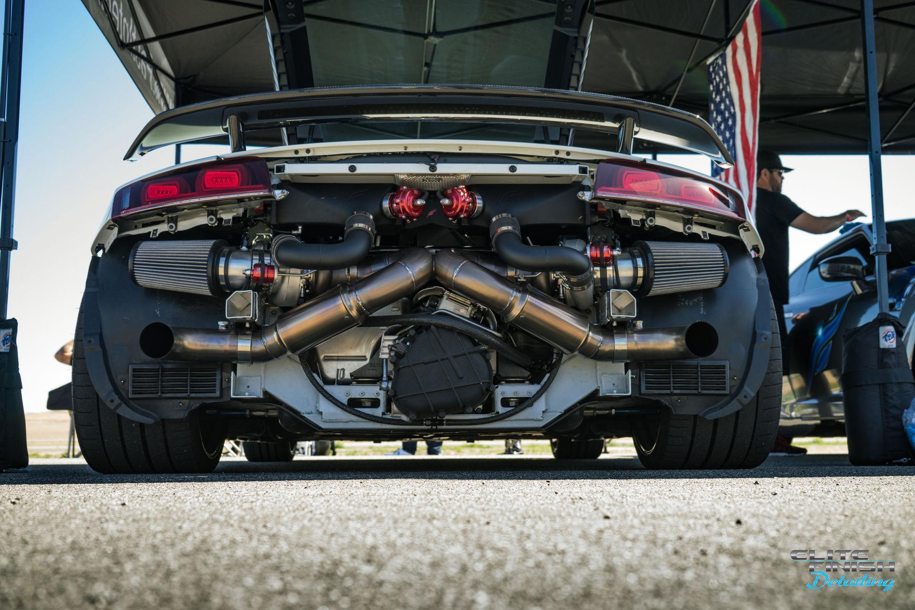 Porsche  | Shift S3ctor California Airstrip Attack