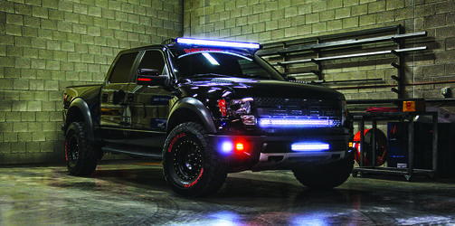 Rigid Lights on Ford Raptor