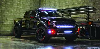 Rigid Lights on Ford Raptor