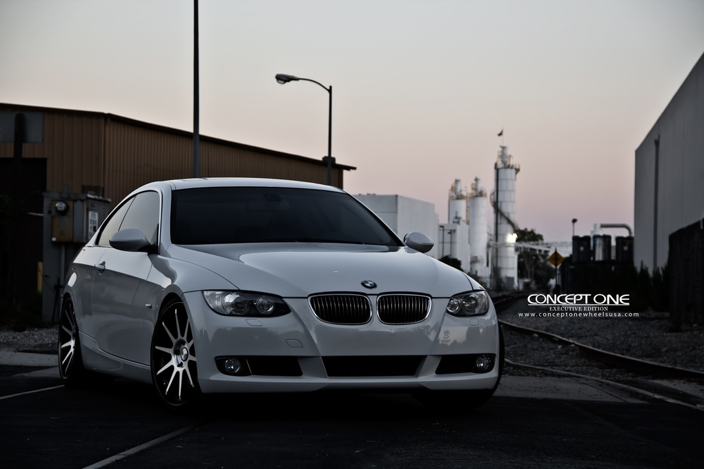 2012 BMW 3 Series | '12 BMW 335i Coupe on Concept One CS-10's