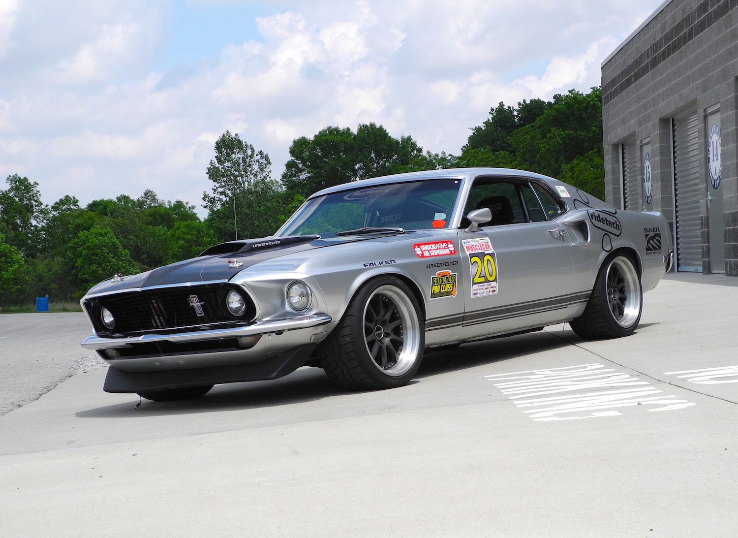 1969 Ford Mustang | Mustang on Forgeline ZX3 Wheels