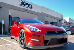 Nissan GTR protected with XPEL ULTIMATE