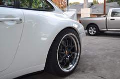 Kate Cavell's 993 Porsche 911 on Forgeline GA3 Wheels