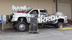 KROQ Banks Powered Chevy Duramax