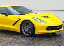 C7 Corvette on Forgeline SE1 Wheels