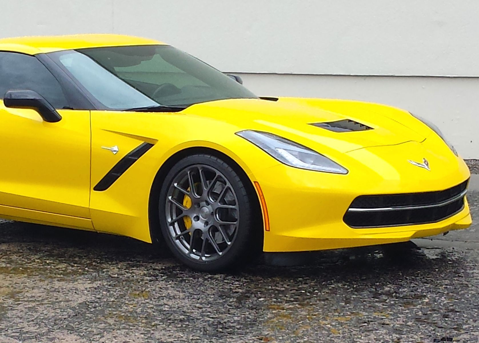2015 Chevrolet Corvette | C7 Corvette on Forgeline SE1 Wheels
