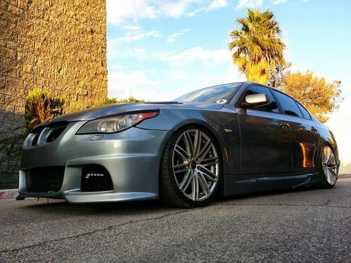 2010 BMW 5 Series | BMW 528i on Ruff Racing R955's