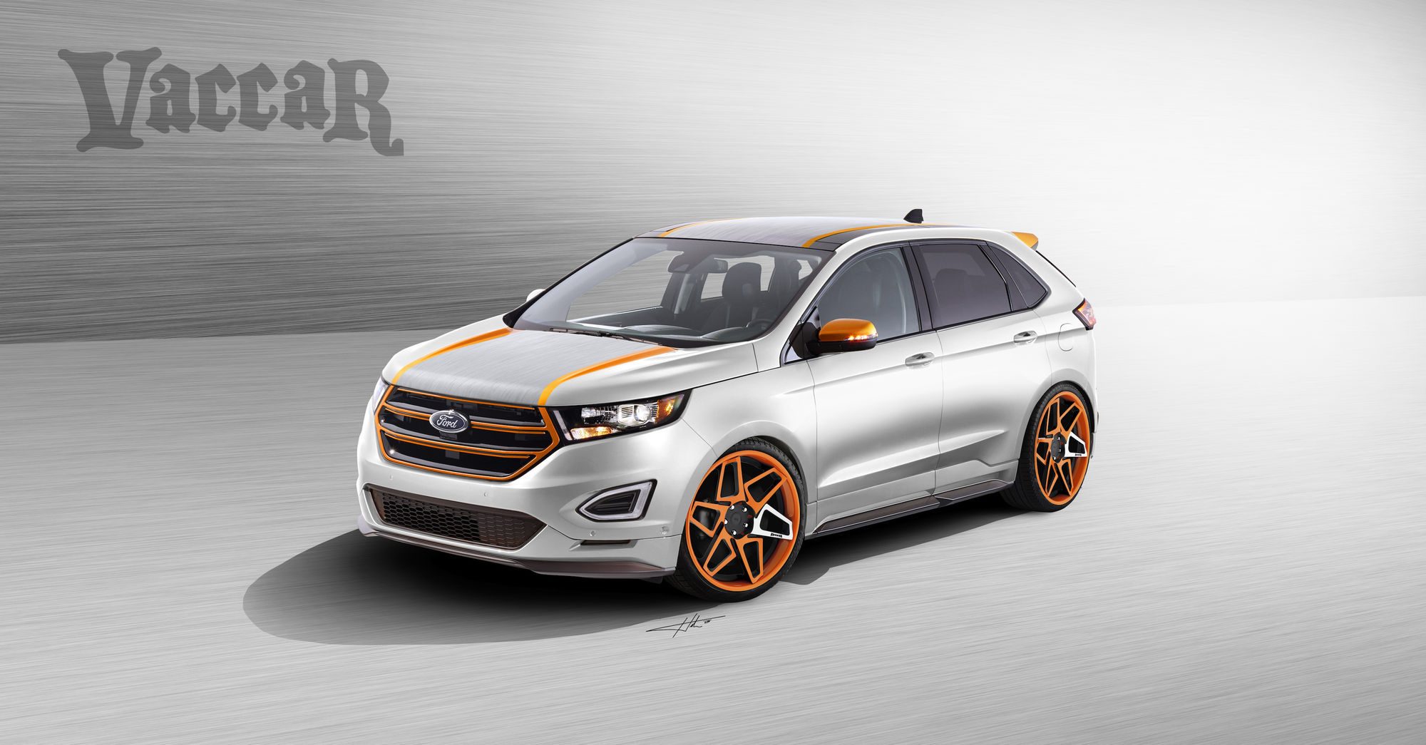 2015 Ford Edge | 2015 Vaccar Ford Edge Sport - Rendering