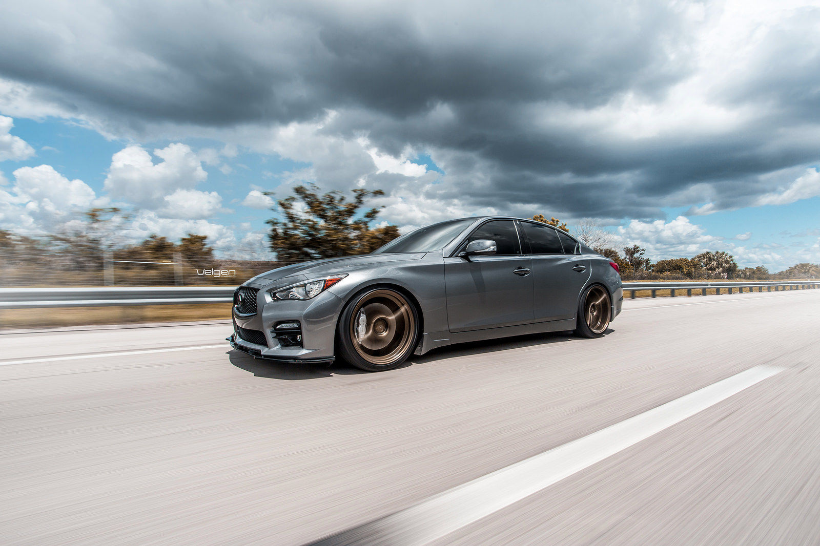 2015 Infiniti Q50 | Infiniti Q50s on Velgen Wheels Classic5