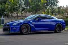 Jimmy Alvarez's Nissan GT-R on Forgeline DE3C Concave Wheels