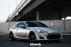 "FR-S on 18"" Klutch ML1 Wheels - Passenger Side Shot"