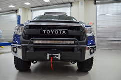 N-FAB TRD PRO Build - Toyota Tundra Front Shot