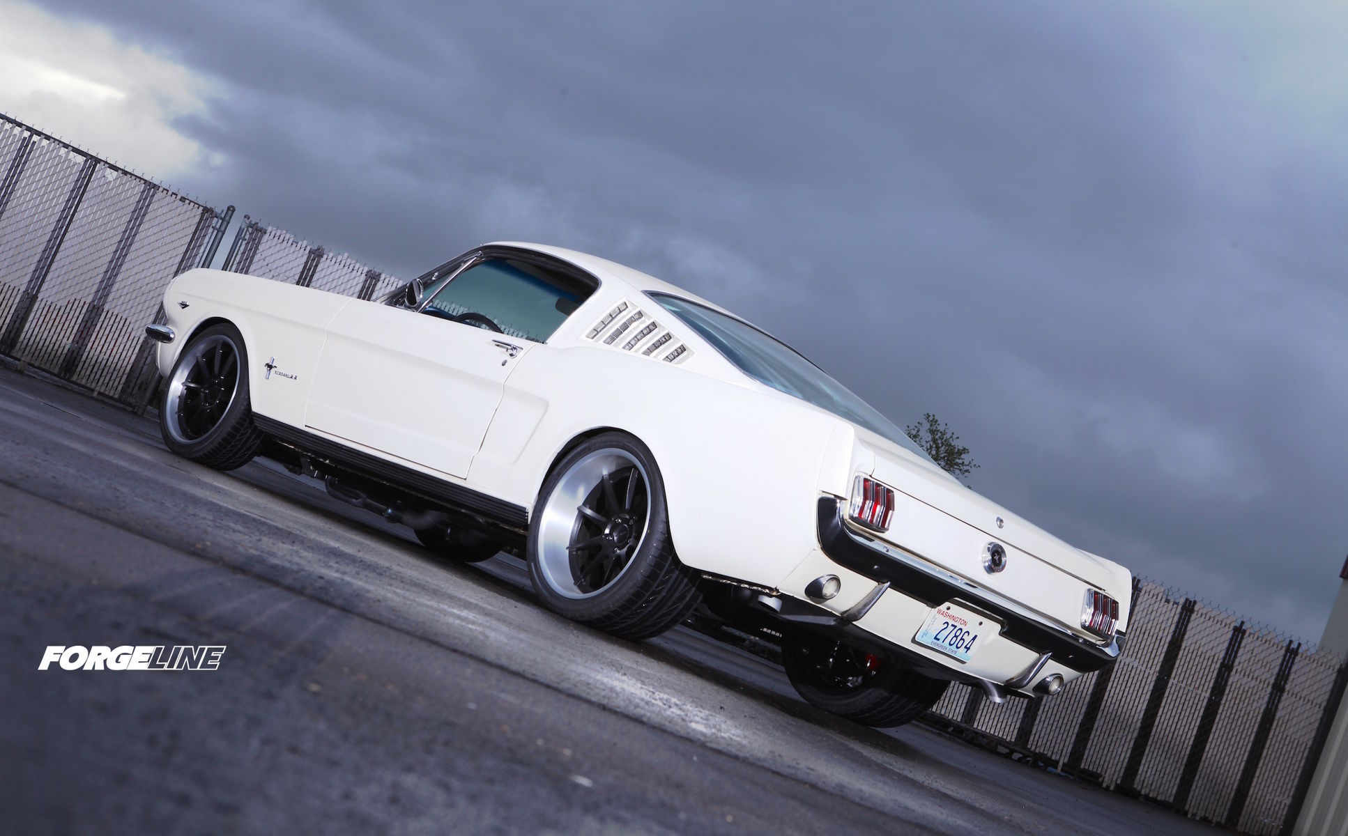 1965 Ford Mustang | Metalworks 1965 Ford Mustang Fastback on Forgeline RB3C Wheels