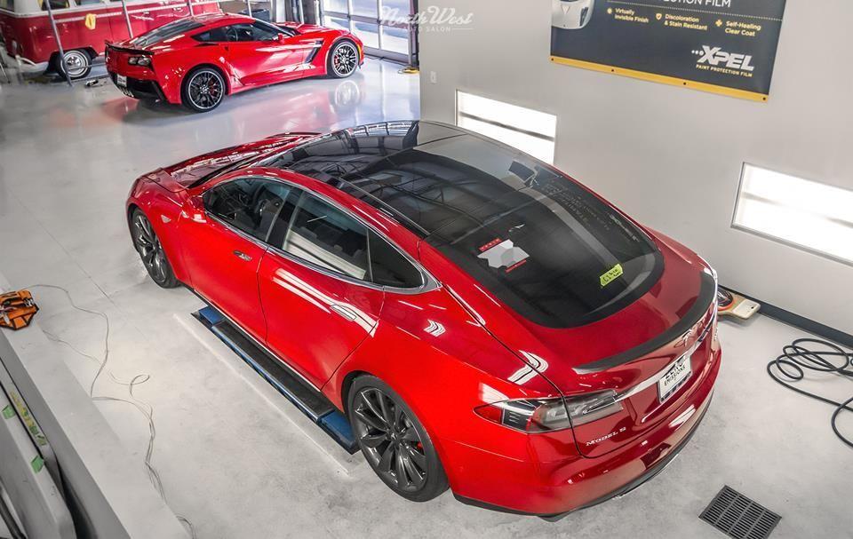 2015 Tesla Model S | Double Trouble XPEL Paint Protection