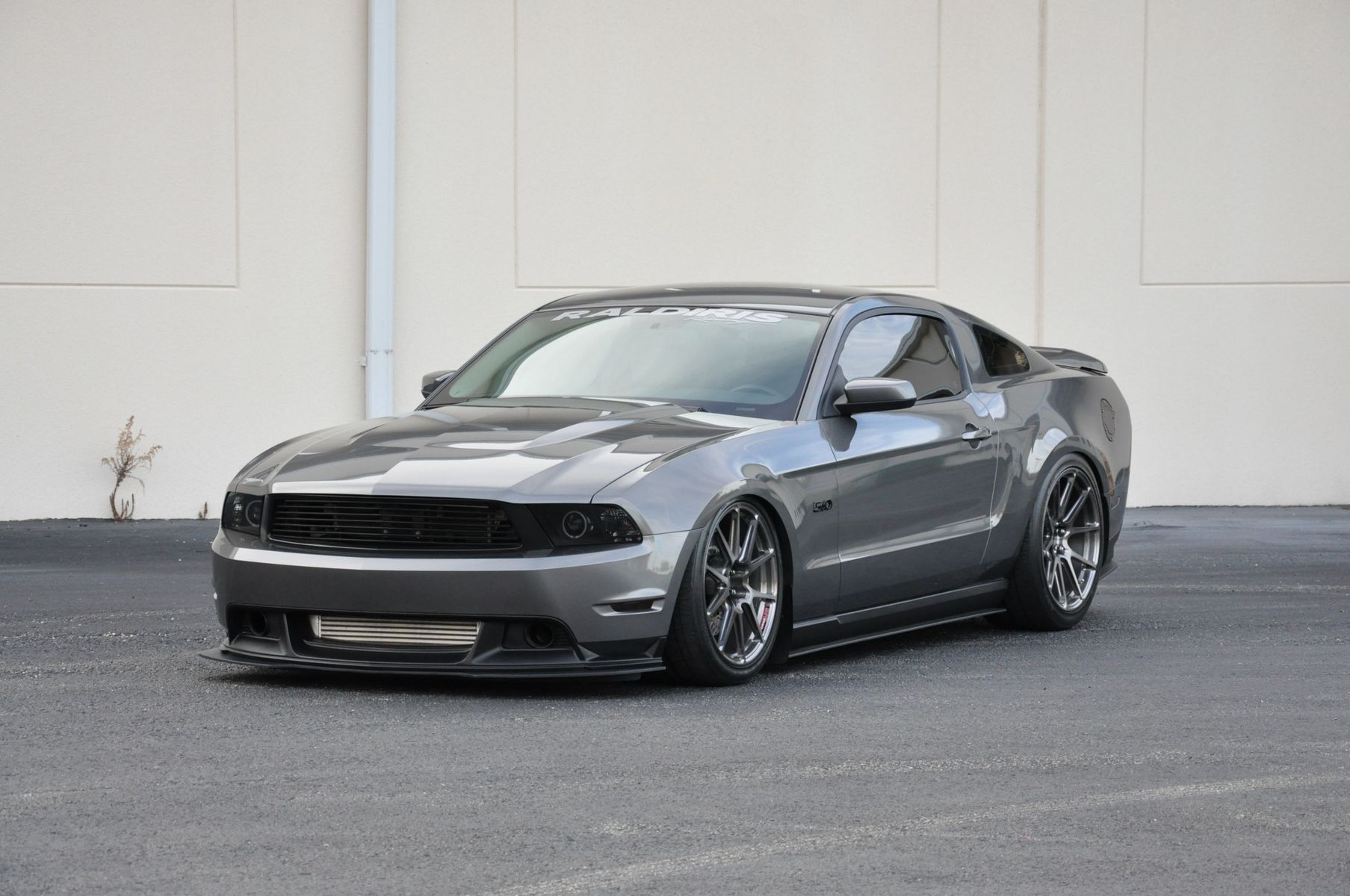 2011 Ford Mustang | Sharad's Mustang GT on Forgeline GA1R Open Lug Wheels - Stance