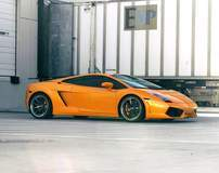 Will Dugas' Lamborghini Gallardo on Forgeline RB3C Wheels - Side Profile