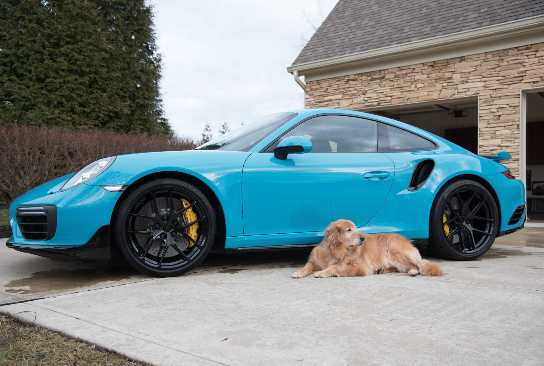 2017 Porsche 911 | Mike Martin's Maui Blue 991 Porsche 911 Turbo S on Forgeline One Piece Forged Monoblock VX1R Wheels