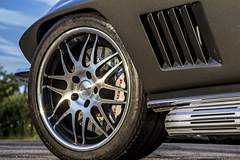 Steve's Schwartz Performance-Built '67 Corvette on Forgeline DE3P Wheels