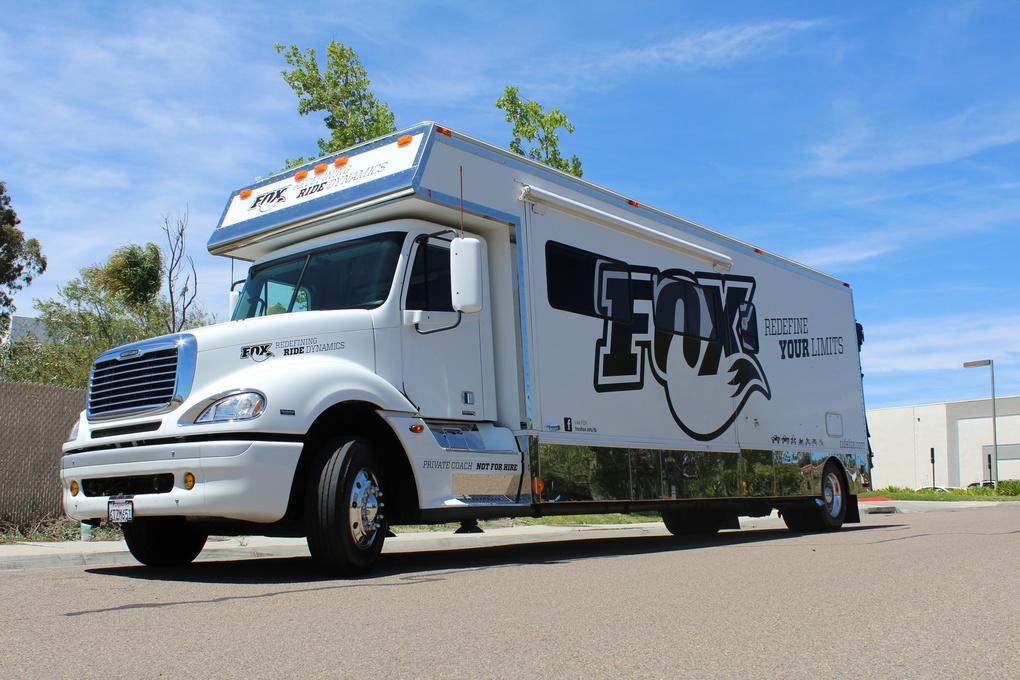 Mercedes-Benz  | Fox Racing Toterhome