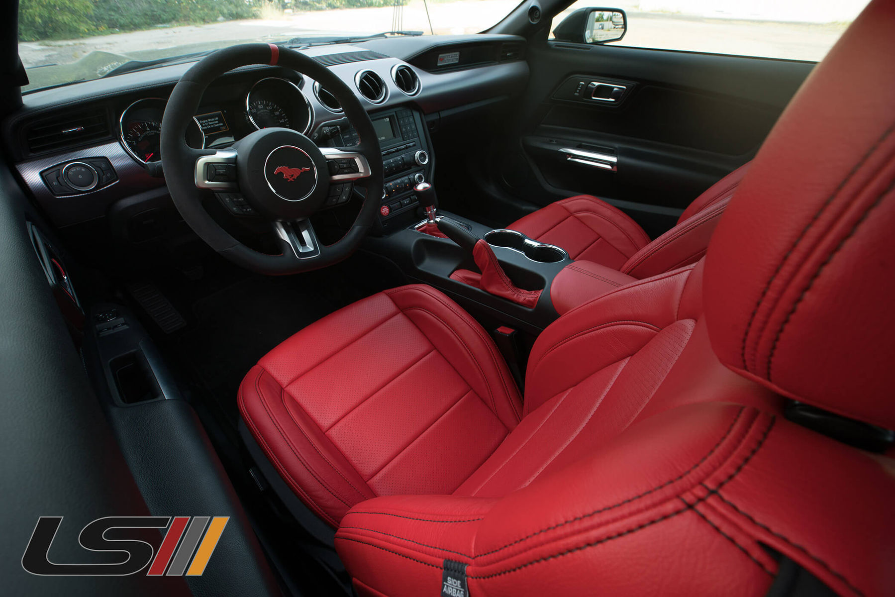 Stupendous 2016 Mustang Gt Leather Interior By Leatherseats Com Squirreltailoven Fun Painted Chair Ideas Images Squirreltailovenorg