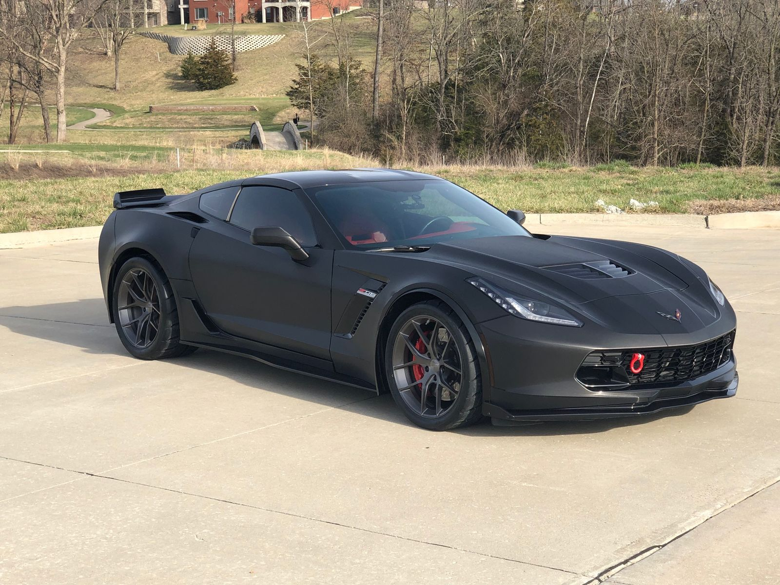 2018 Chevrolet Corvette Z06 | Steve Dalbec's C7 Corvette Z06 on Forgeline One Piece Forged Monoblock VX1 Wheels