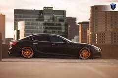 Lowered Maserati Ghibli - Side Stance Shot