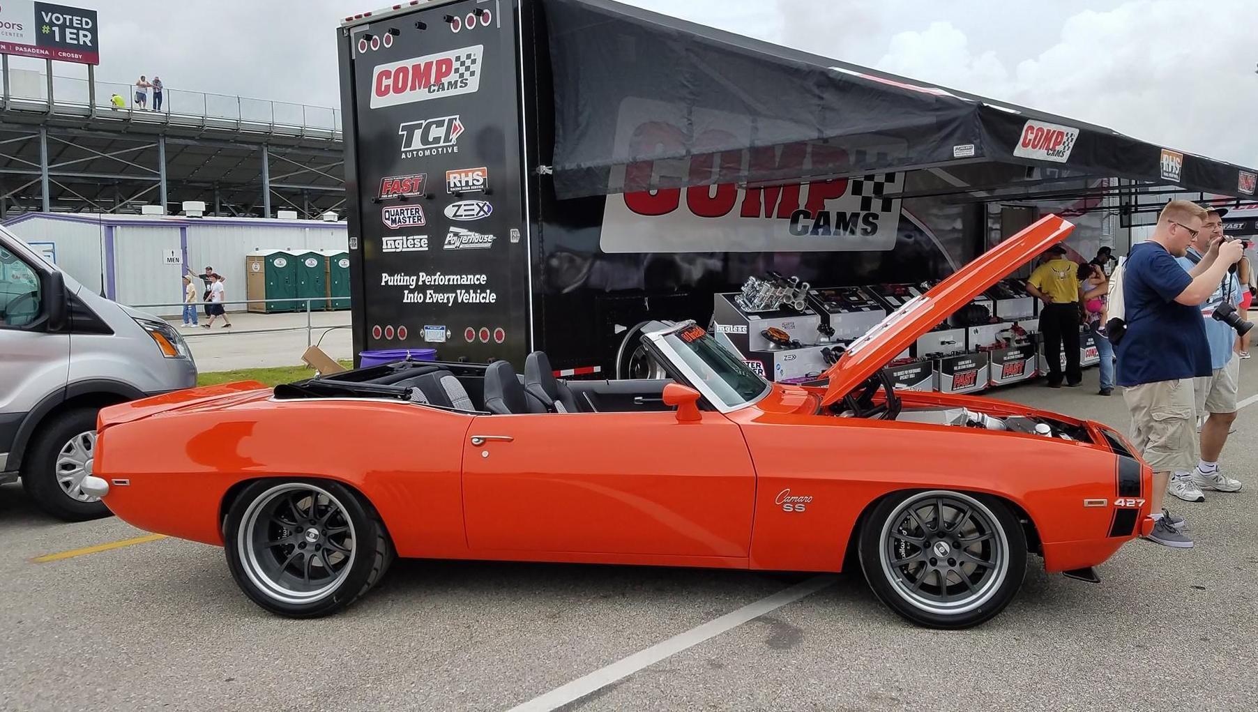 1969 Chevrolet Camaro | Tony Whatley's '69 Camaro SS 350 Convertible on Forgeline GZ3 Wheels