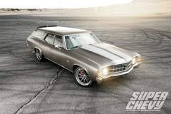 Steve Rupp's Pro-Touring 1971 Chevelle Malibu Wagon on Forgeline RB3C Wheels