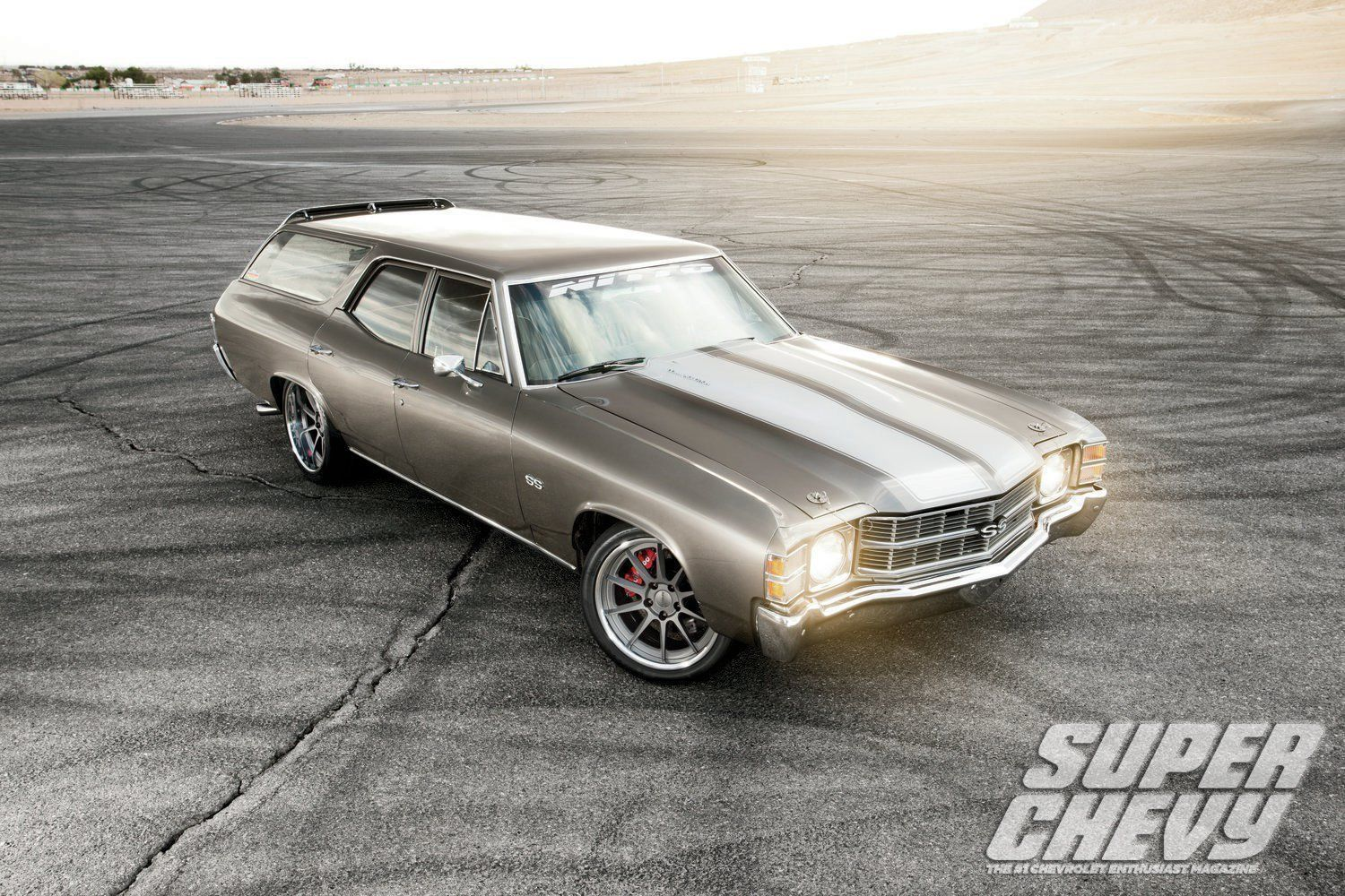 1971 Chevrolet Malibu | Steve Rupp's Pro-Touring 1971 Chevelle Malibu Wagon on Forgeline RB3C Wheels