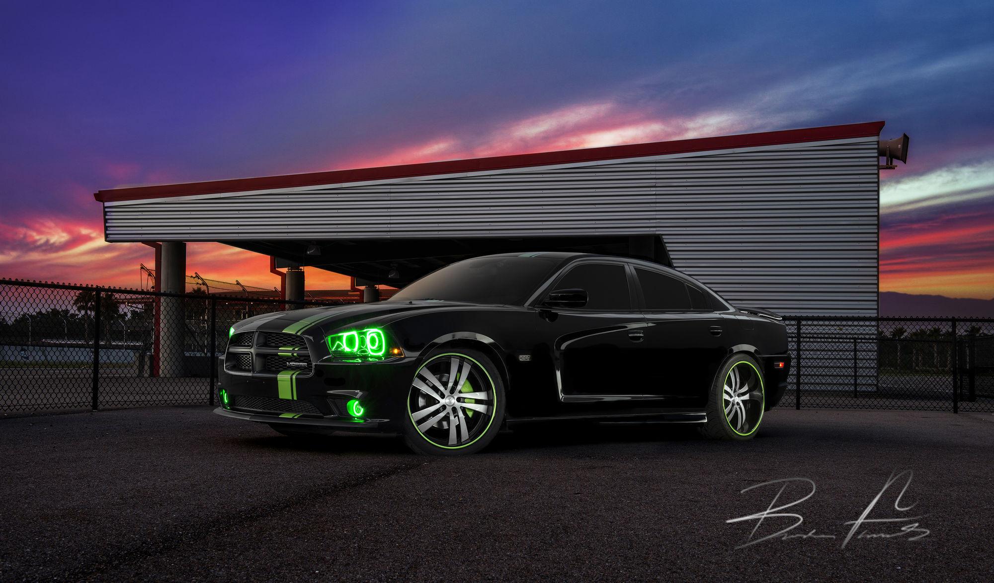 Dodge Charger   Dodge Charger Black -2