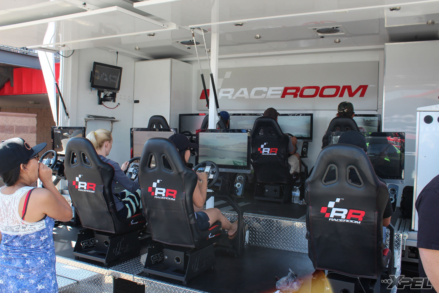 | Race room at the California Festival of Speed 2015