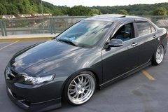 '04 Acura TSX on Klutch SL14's
