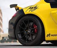 Video: Jason's Targa Trophy Porsche Cayman GT4 on Forgeline One Piece Forged Monoblock GS1R Wheels