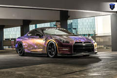 Wrapped Nissan GTR - Stance
