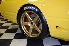 "Jim Busby's 1982 Ferrari ""400GTC"" on Center Locking Forgeline One Piece Forged Monoblock CF1 Wheels"