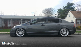 '11 Honda Civis Si on Klutch SL14's