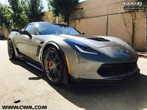 Jason Smith's C7 Corvette Z06 on Forgeline One Piece Forged Monoblock VX1 Wheels