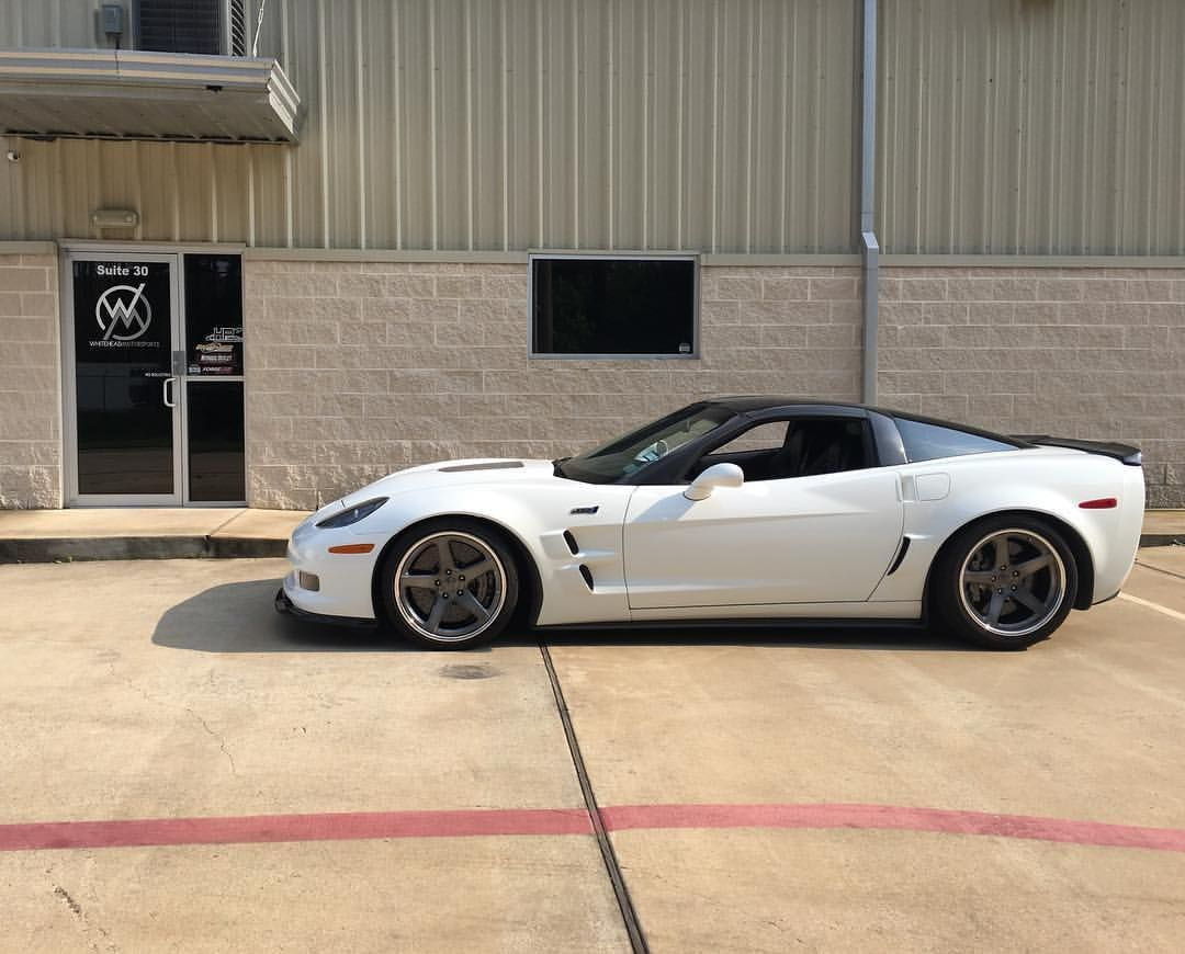 2012 Chevrolet Corvette ZR1 | Garett's Hennessey-Powered C6 Corvette ZR1 on Forgeline CF3C Concave Wheels