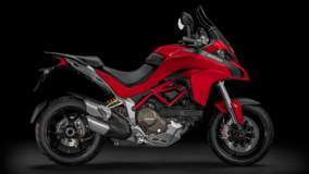Multistrada 1200 S - Red Side View