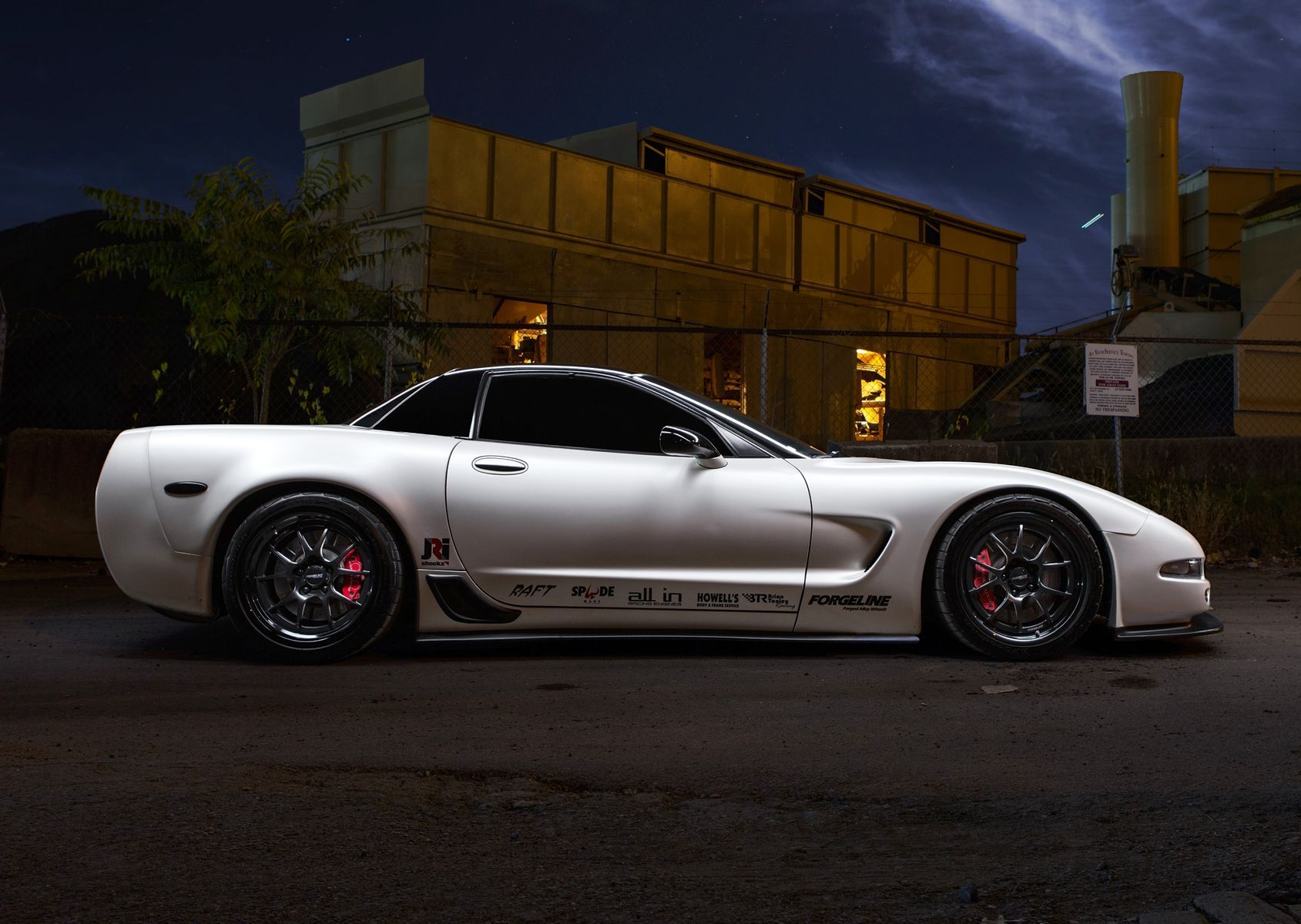 2003 Chevrolet Corvette Z06 | David Moster's C5 Corvette Z06 on Forgeline GA3R Wheels