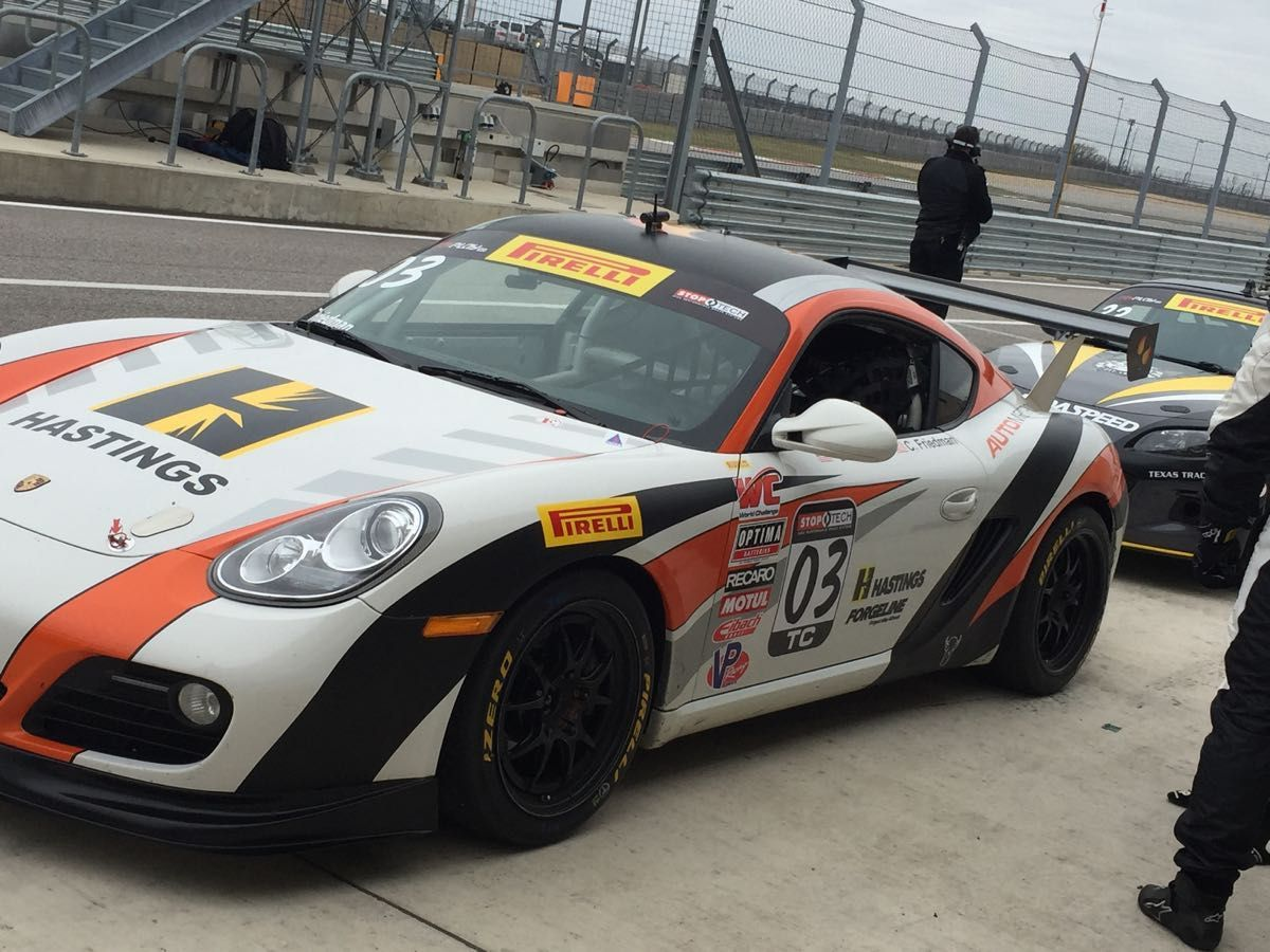 Porsche Cayman |  World Challenge at COTA
