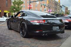 Nicholas Kopp's Porsche 991 Carrera S on Forgeline One Piece Forged Monoblock GA1R Wheels