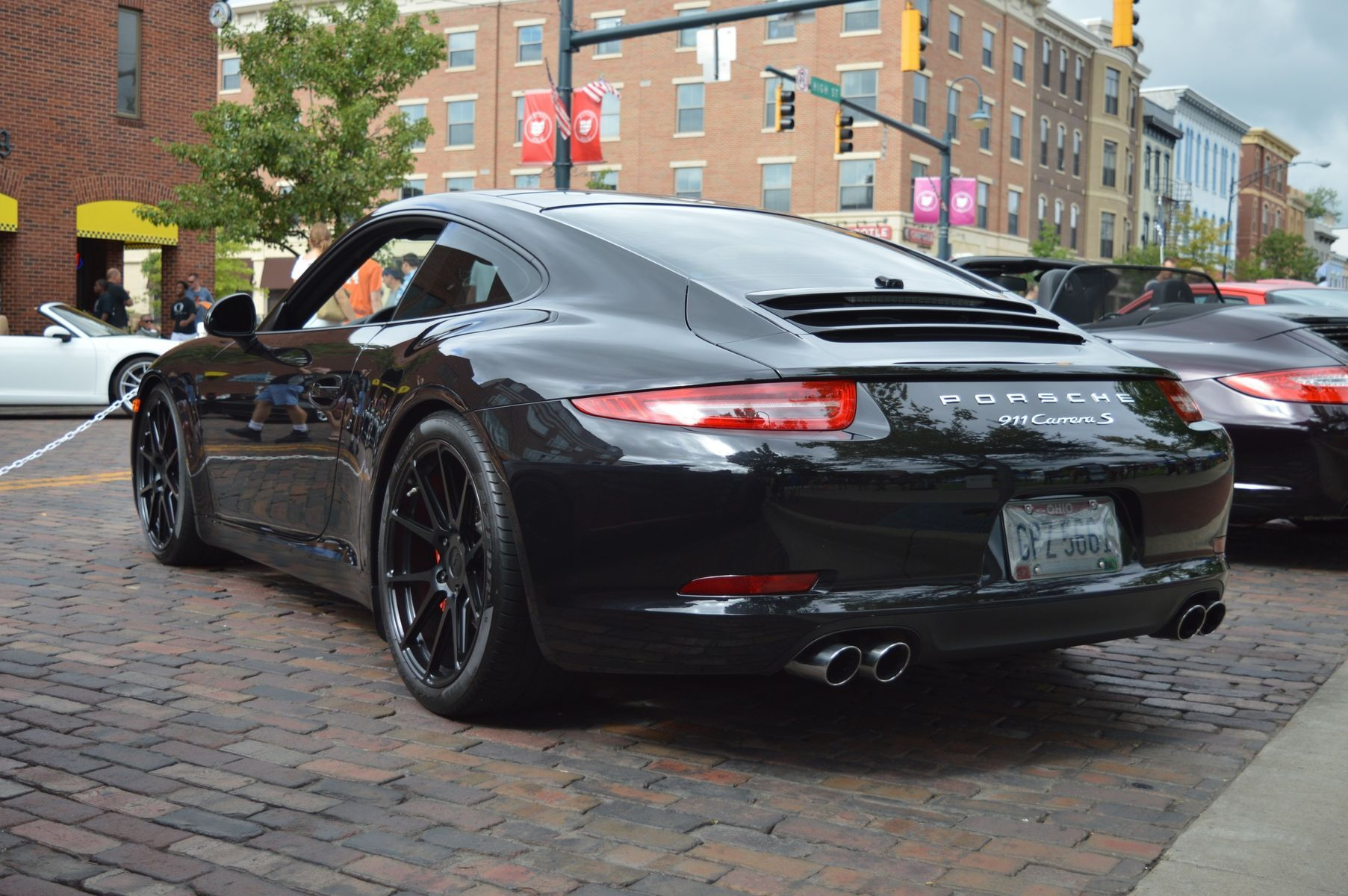 2012 Porsche 911 | Nicholas Kopp's Porsche 991 Carrera S on Forgeline One Piece Forged Monoblock GA1R Wheels