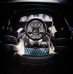 Gary Weckesser's Mach IV 4 Engine Mustang Interior