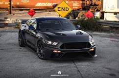 Anderson Composites Supercharged S550 Mustang GT on Forgeline One Piece Forged Monoblock GS1R Wheels