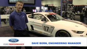 Video: Ford's Shelby FP350R Factory-Direct Racecar on Forgeline One Piece Forged Monoblock GS1R Wheels Debuts at the 2016 PRI Show