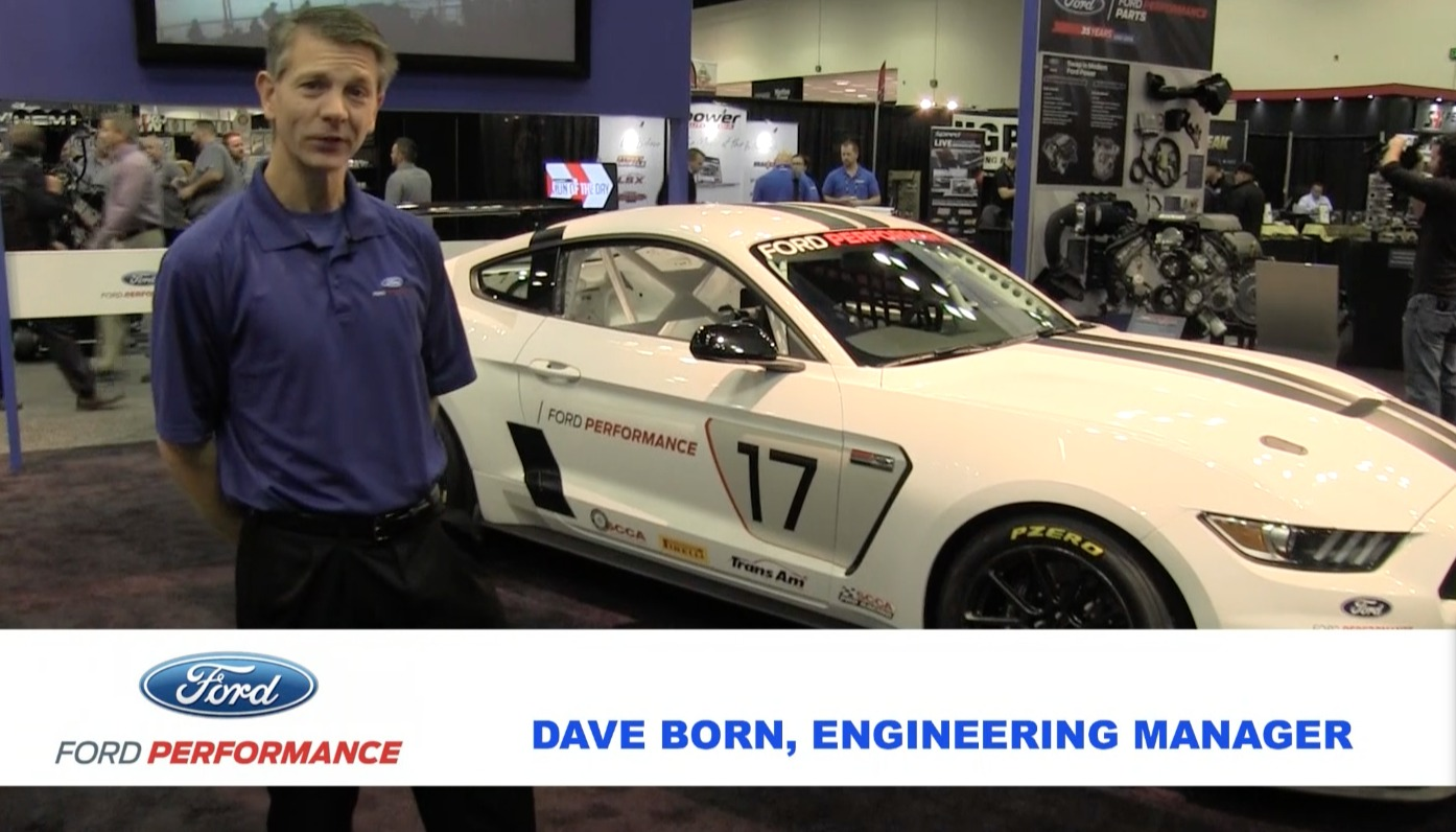 2017 Ford Mustang | Video: Ford's Shelby FP350R Factory-Direct Racecar on Forgeline One Piece Forged Monoblock GS1R Wheels Debuts at the 2016 PRI Show