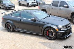 2012 Mercedes-Benz C63 Black Series with XPEL STEALTH